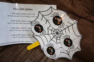 http://anniesadventuresinhomeschooling.blogspot.com/2013/09/4-little-spiders.html