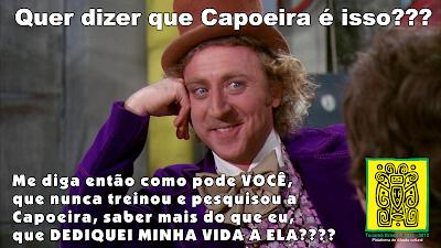 Nova Campanha: Quem entende de Capoeira é o Profissional da capoeira.