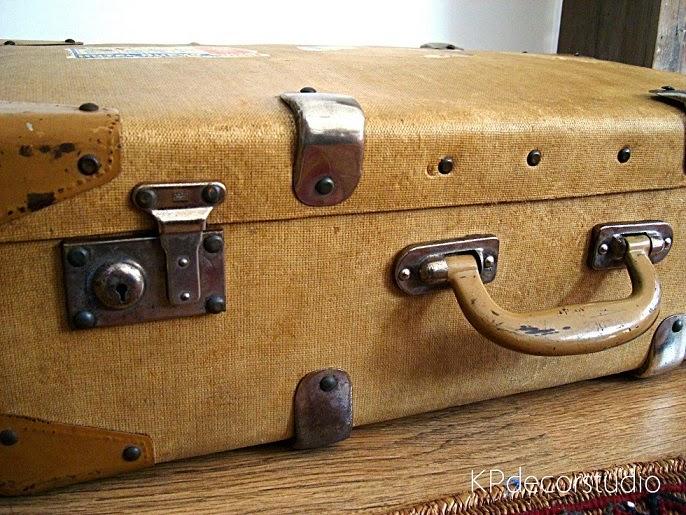 Decorando con maletas antiguas
