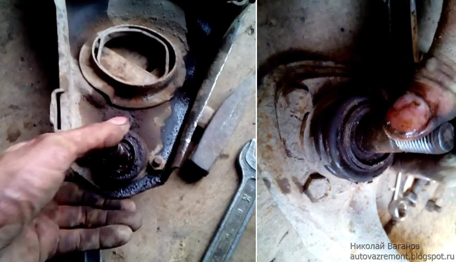 Замена подшипника передней ступицы ваз 2107 своими руками фото