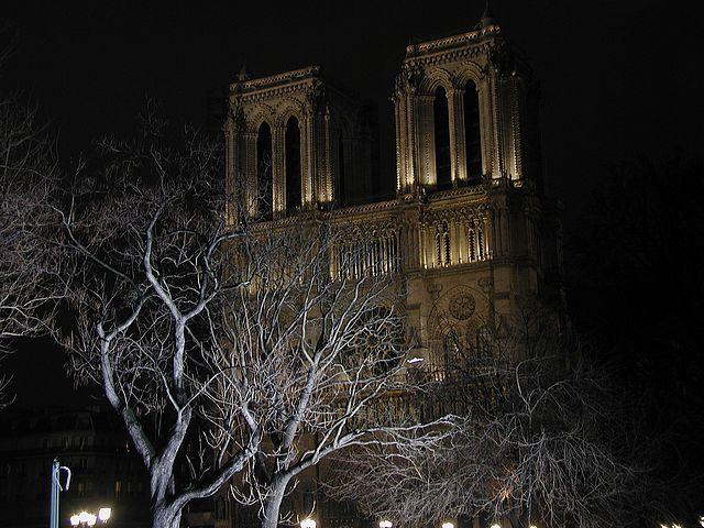NotreDame Church Paris Seen On www.coolpicturegallery.us