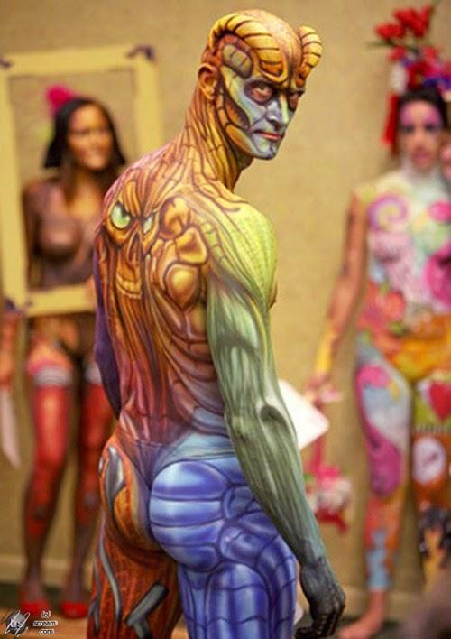 human body art essay