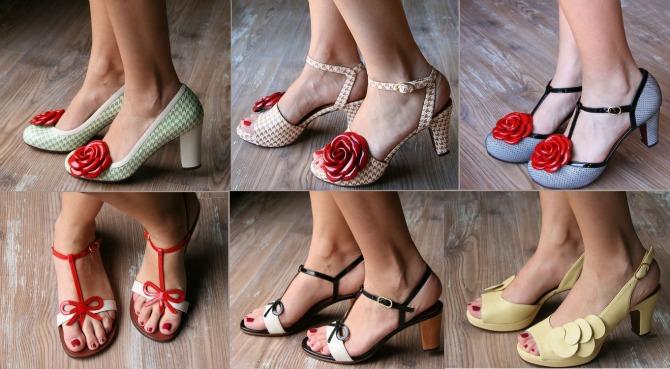 scarpe chie mihara con tacco medio