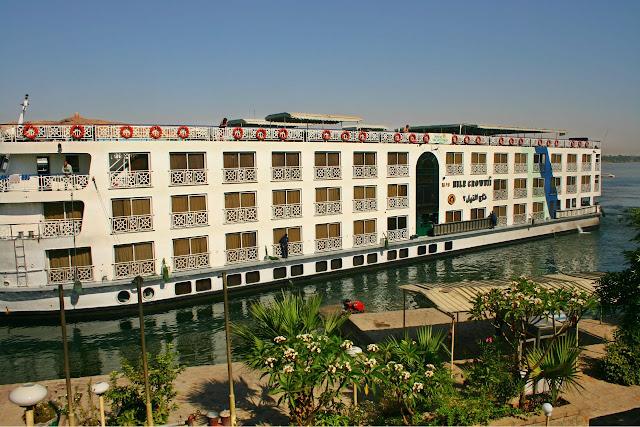 crucero por el Nilo en Egipto, barco