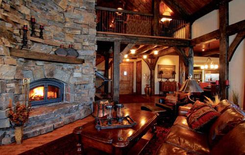Rustic interior design for Room design zug