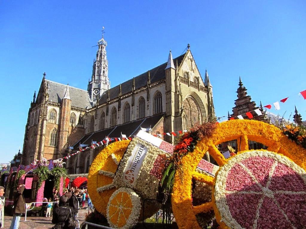 Голландский фестиваль цветов Bloemencorso