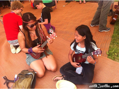 Glastonbury 2013 Ukulele Lessons