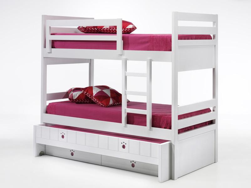 Litera con 3 camas y cajones - Literas madrid ...