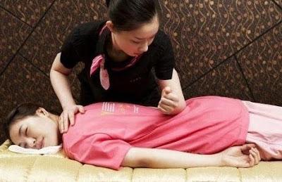 hip massage