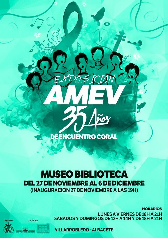 Exposición Amev 35 Años de encuentro coral