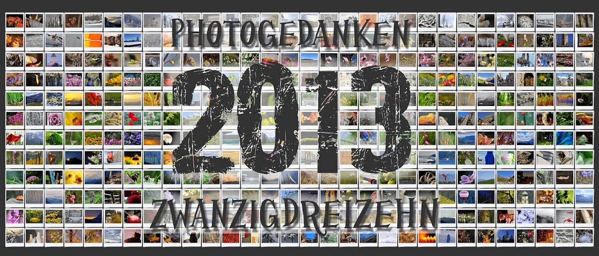Photogedanken ZWANZIG DREIZEHN (in Zahlen 2013)