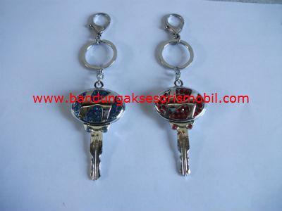 Gantungan Kunci Berlian Model Kunci Hyundai