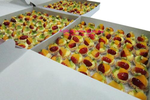 Fruit tart kiwi