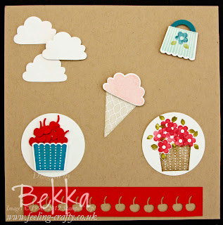 Alternative ways to use the Create a Cupcake Stamp and Punch Set