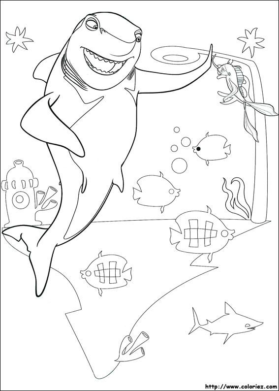 LAMINAS PARA COLOREAR - COLORING PAGES: El Espanta Tiburones para ...