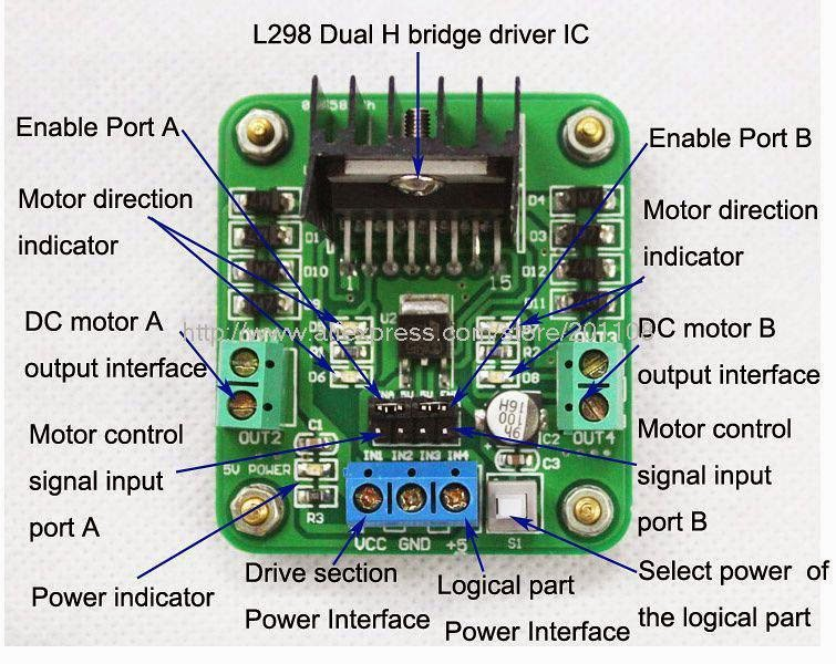 bedbf3caa8300b Powering H Bridge L298N with RPI - Raspberry Pi Forums