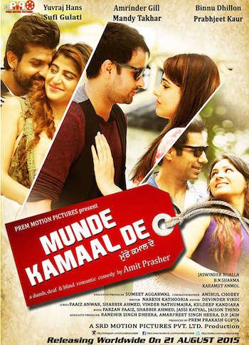 Munde Kamaal De 2015 Punjabi DVDRip Download