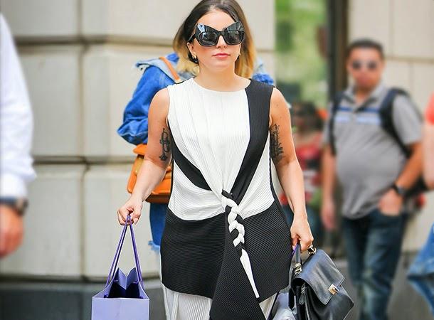 Lady Gaga Goes Shopping in NYC