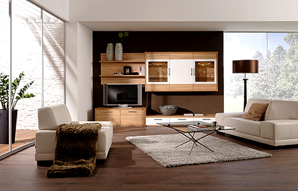 Modern rooms lcd tv cabinets furnitures designs ideas for Tv room furniture layout ideas