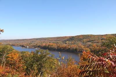 St. Croix River valley Autumn color