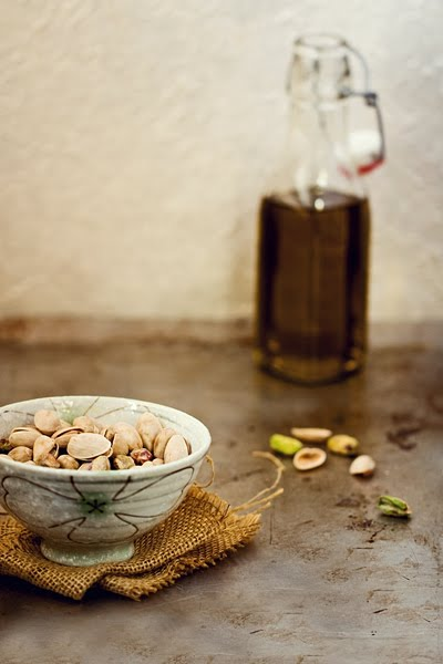 Pistachios and Olive Oil