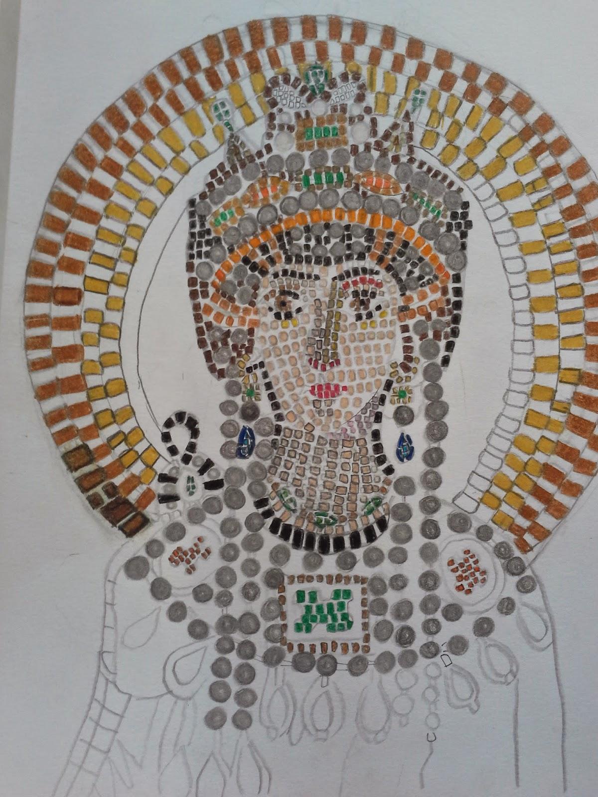 Due ore di arte fatti da voi i mosaici bizantini di ravenna for Disegni per mosaici da stampare