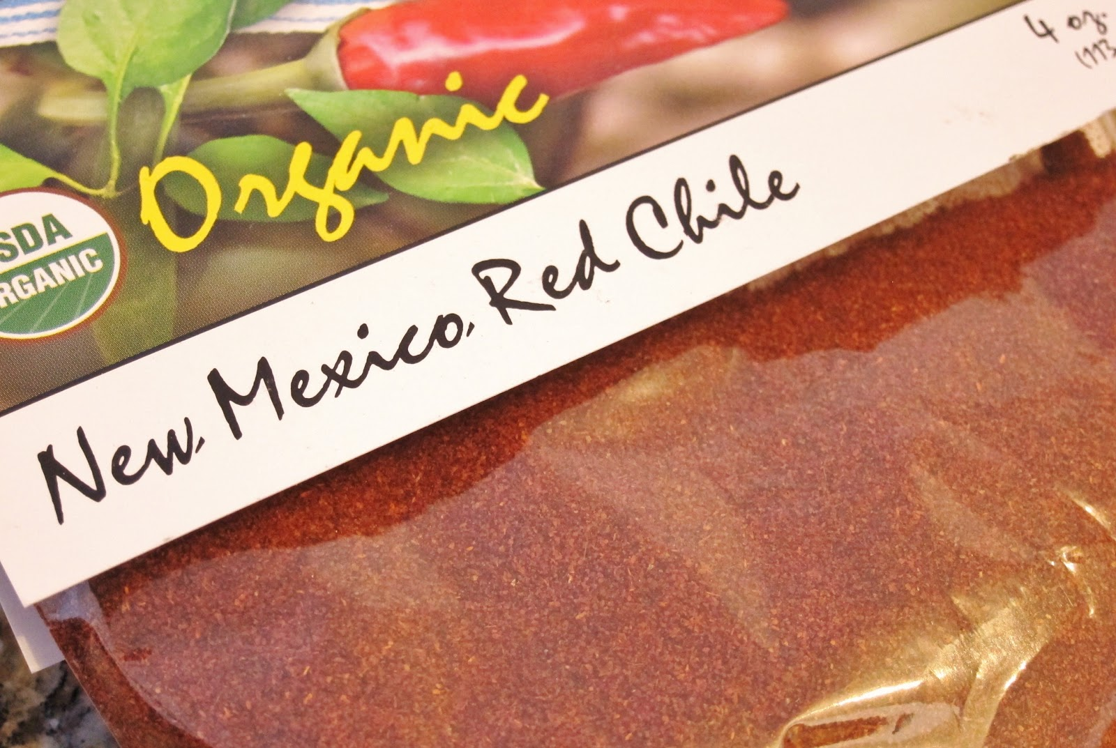 The Vegan Chronicle: New Mexican Red Chile Sauce
