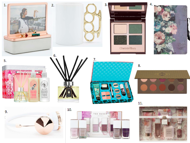 Christmas gift ideas wishlist for her - benefit, charlotte tilbury, christmas, gift ideas, paperchase, Soap & Glory, ted baker, urban outfitters, zoeva,