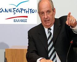 """Τ. Κουίκ: """"Οι ΑΝΕΛ είναι το   Πατριωτικό Ανάχωμα στην Αυτοδυναμία του ΣΥΡΙΖΑ"""""""