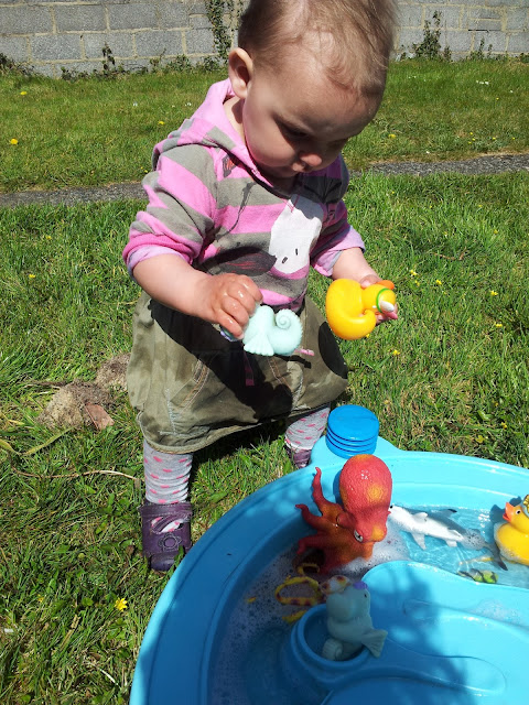 Matilda Mae's Messy Play Water Table Seaside Animals