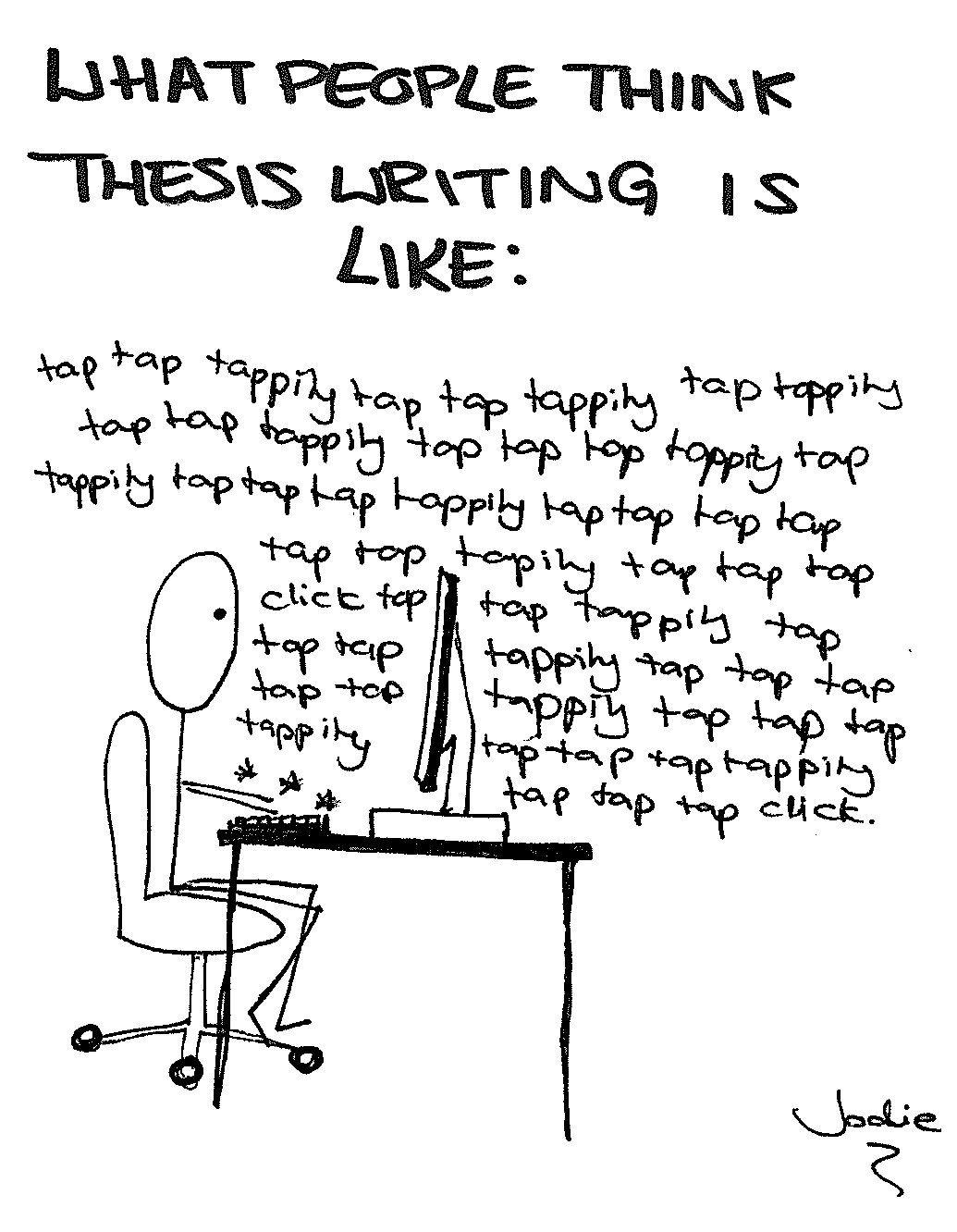 Help For Thesis Writing People think thesis writing is like Help For Thesis Writing