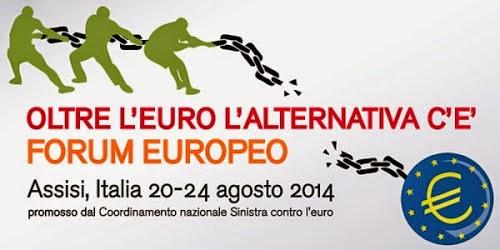 OLTRE L'EURO - Assisi 20/24 Agosto 2014