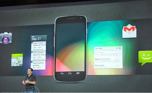 Android 4.1 Jelly Bean Home Screen Revealed