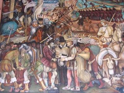 Profesora martha godfrey mis clases favoritas la historia for Diego rivera la conquista mural