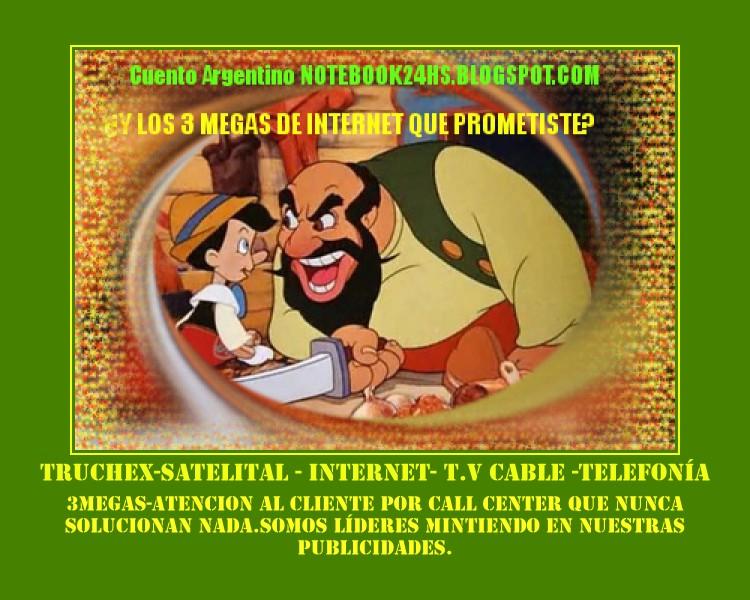 INTERNET ALTA VELOCIDAD?? EN ARGENTINA??
