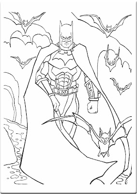 Batman Coloring Pages on Coloring Pages Online  Batman Coloring Pages