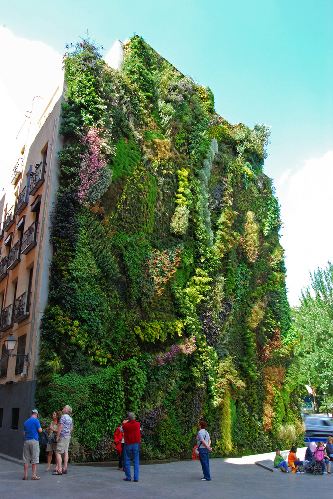 Fashionanddistraction jardines verticales for Jardin vertical madrid