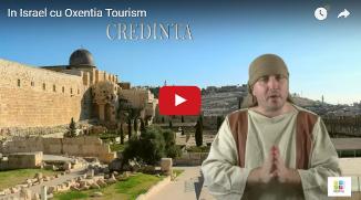 ✡ Shalom! Noi, Oxentia Tourism vă salutăm cu drag: Hristos a Înviat! Nu crezi? Vino şi vezi!
