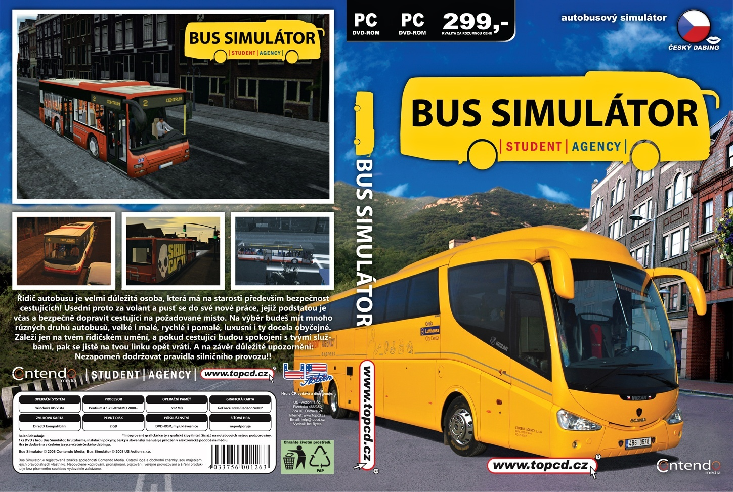 simulator bus
