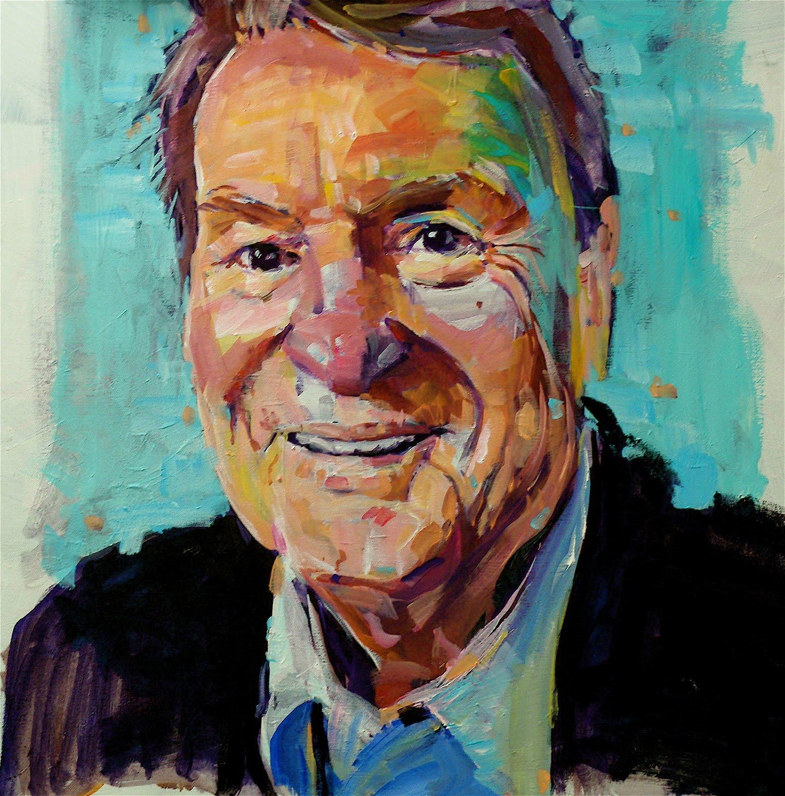 Tutorial Acrylic Portrait Painting