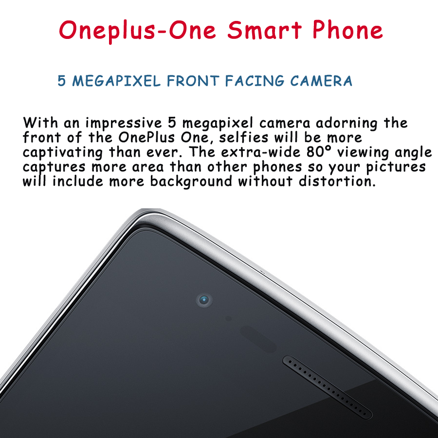 13mp camera of oneplus-one smartphone