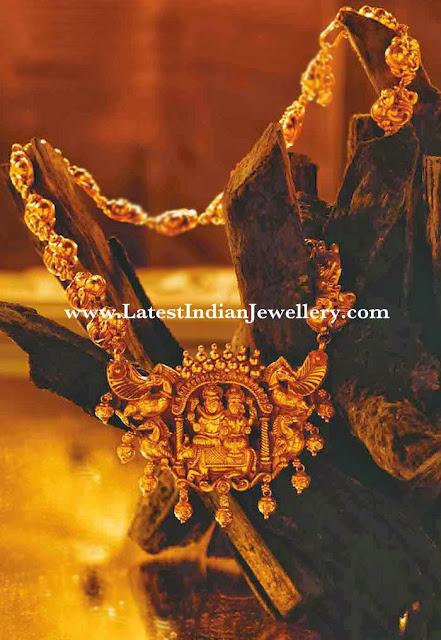 Nakshi Haram With Divine Pendant