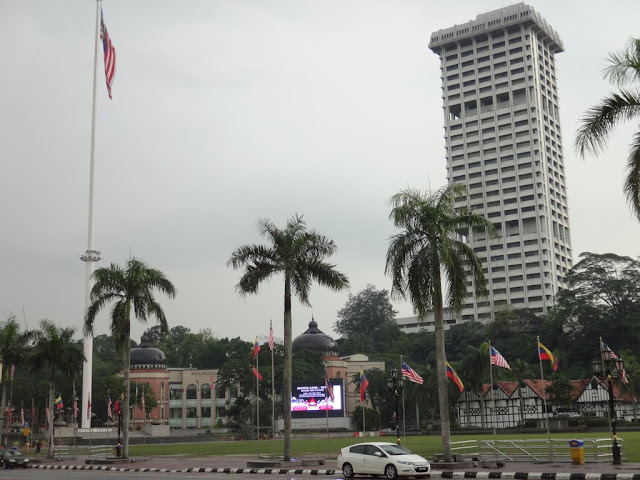 The Merdeka Square or Dataran Merdeka is another popular landmark for the annual National Day Parade which is located in front of the Sultan Abdul Samad Building in Kuala Lumpur, Malaysia.