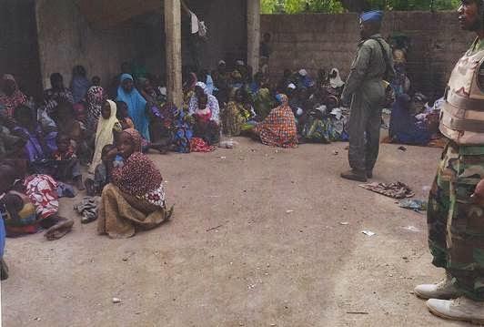 girls rescued boko haram