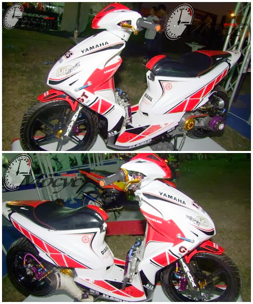 Modifikasi Yamaha Xeon Tampil Kian Sporty title=