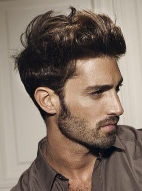 esta vez los hombres usan el pelo corto ligeramente levantado al frente o pueden optar por un flequillo casual elige el que ms te guste