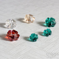 Clover Crystals Beads
