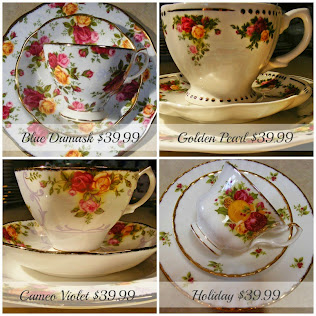 Old Country Roses Tea Cup Trios