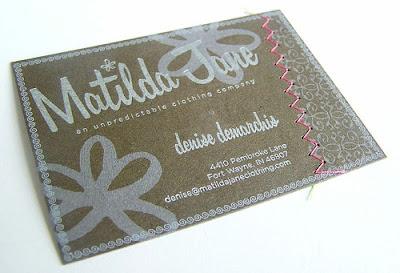 tarjetas de presentacion estilo vintage