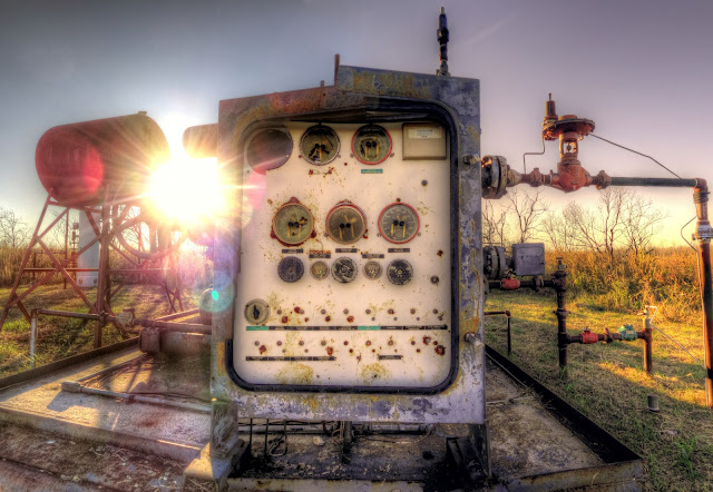 Pumping Station at George Bush Park in Houston, Texas - HDR Panoramic